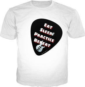 T-shirts Guitar Pick3