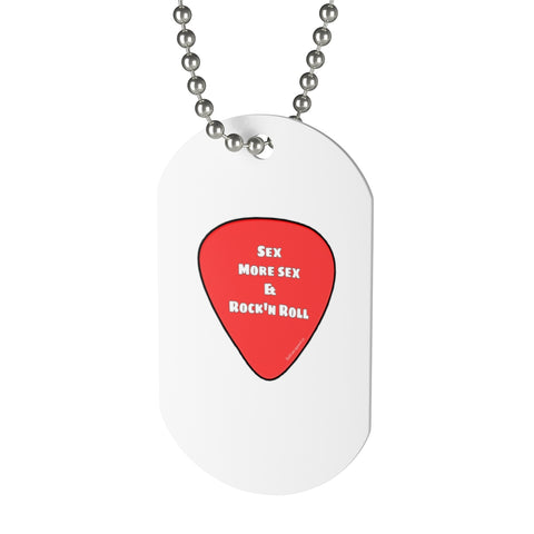Dog Tag Guitar ssr