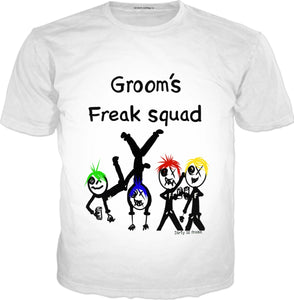 T-shirts Grooms Freak Squad DLF