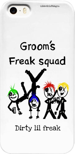 Phone Cases Grooms Freak Squad DLF