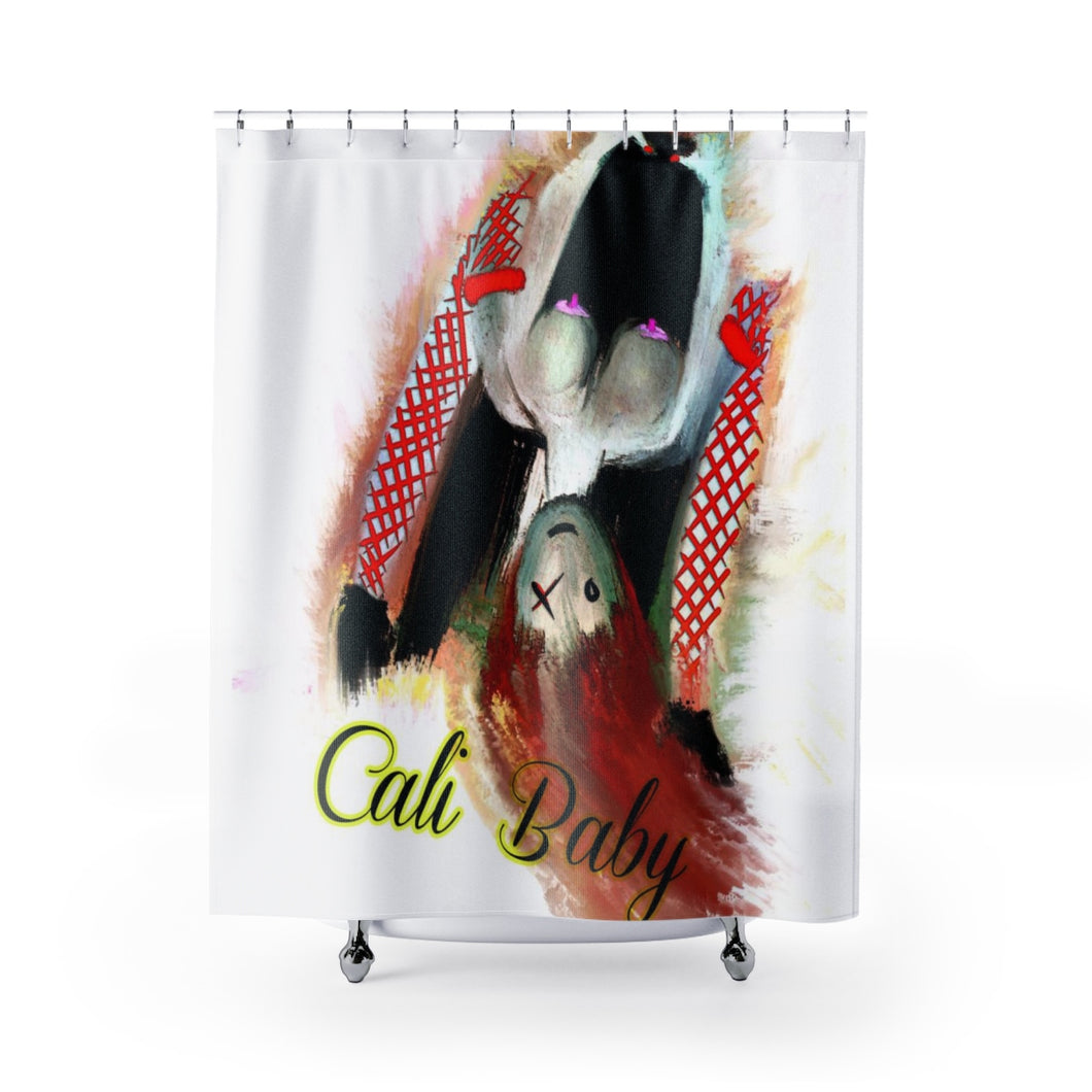 Shower Curtains Cali girl