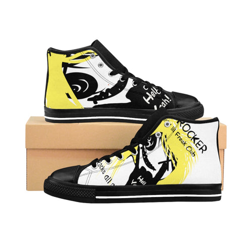 Men's High-top Sneakers Hell yeah dlf