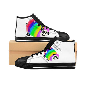 Men's High-top Sneakers Rainbow sheep