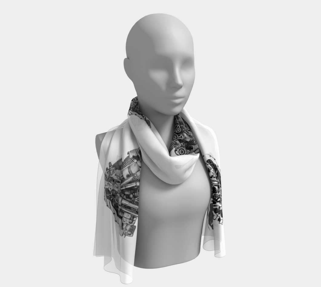 Fashion scarves panhead1