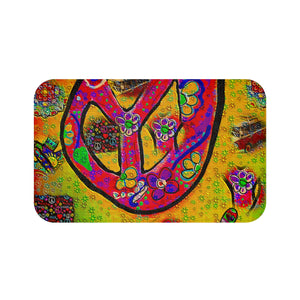 Bath mats 26 peace sign