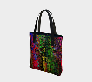 Tote bag Dripping absract