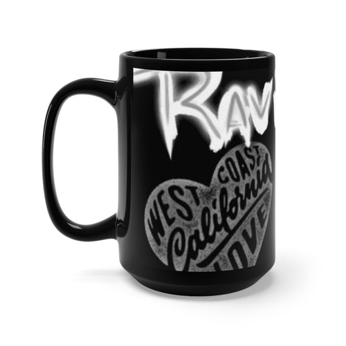 Black Mug 15oz/rave