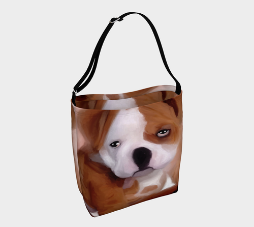 Day tote Sad eyes