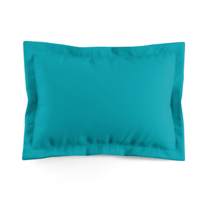 Pillow shams Microfiber Turquoise
