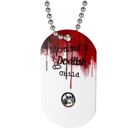 Dog Tag devilish child