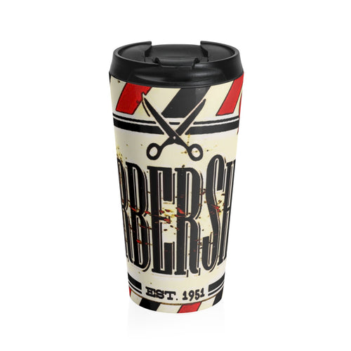Stainless Steel Travel Mug barbershop