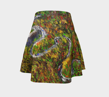Flare skirt The dragon