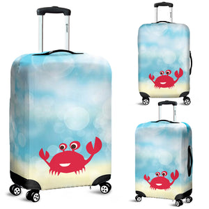 Luggage Cover ~ Crab