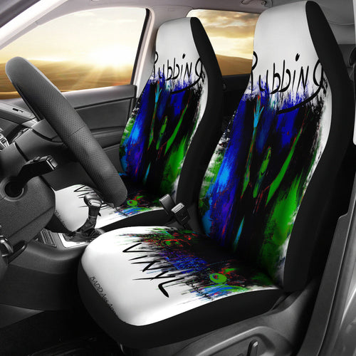 Car seat covers rubbing vinyl