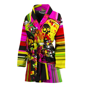 Women's robe barber robe4