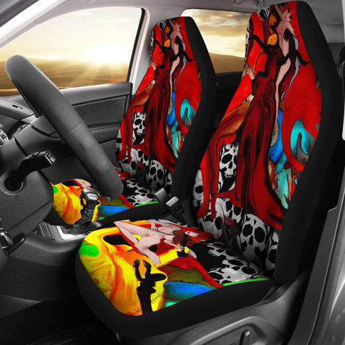 Car seat covers devils playground