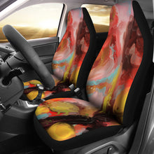 car seat covers Abstract 6