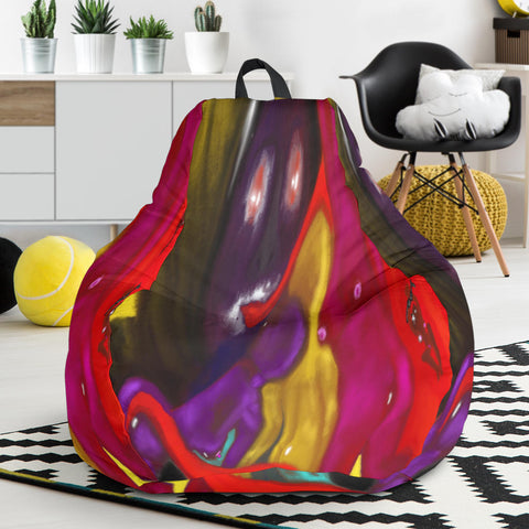Bean bag chair devils tongue play