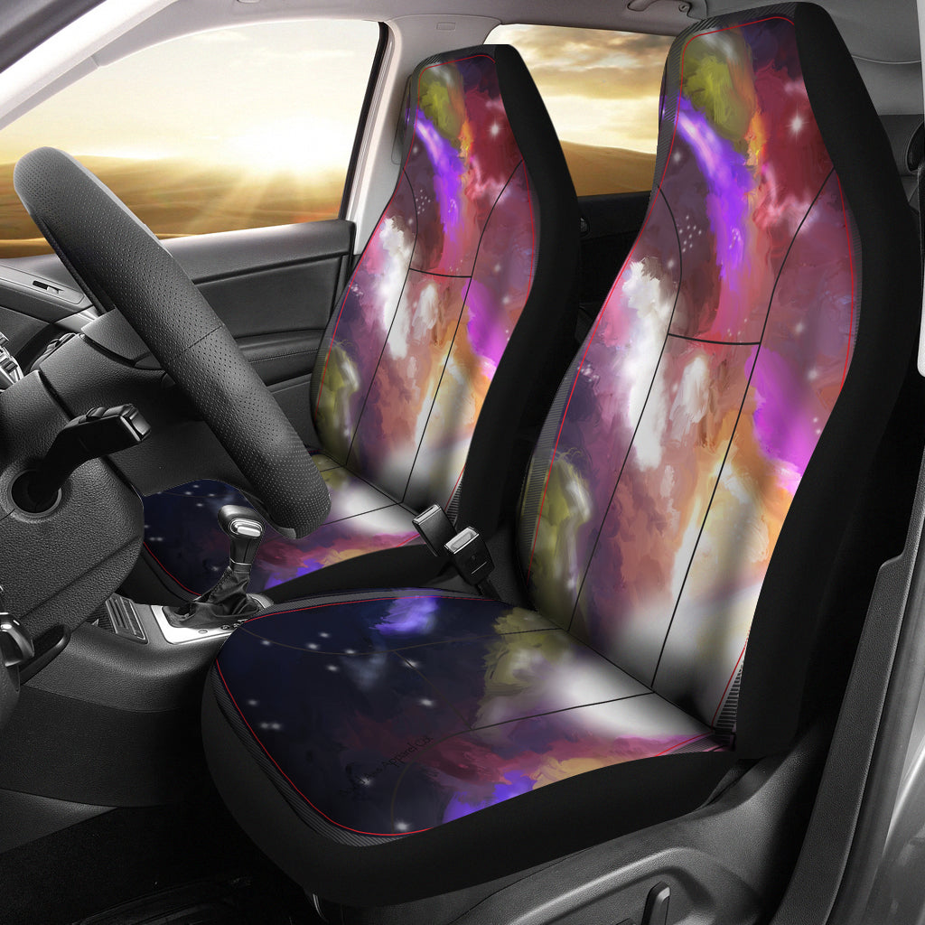 Car seat covers space,Comet