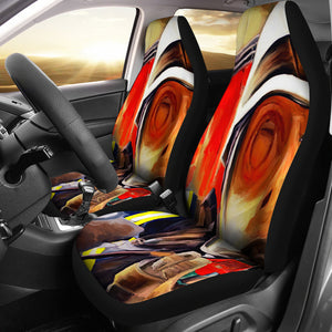 Car Seat covers Fireman print