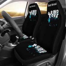 Car seat covers Grindcore green