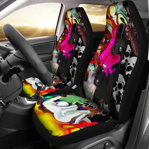 Car seat covers Abstract devils den