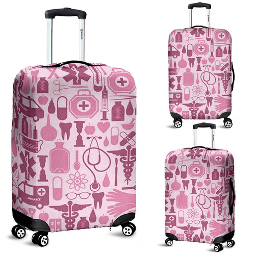 Luggage covers NURSE PINK TOOLS