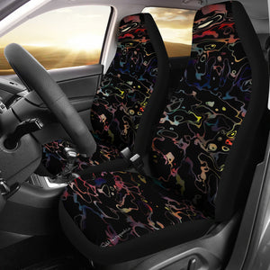 Car seat covers Abstract waves
