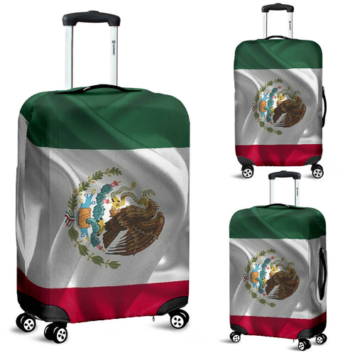 Luggage Cover ~ Mexican Flag