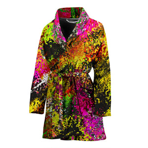 Women's robe  abstract 2