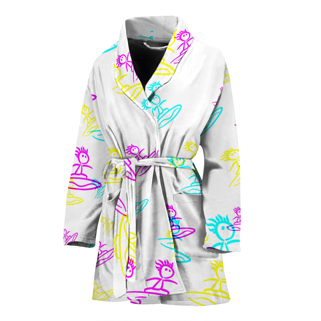 Womens robe surfer 3 color