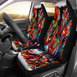 Car seat covers colorful ab