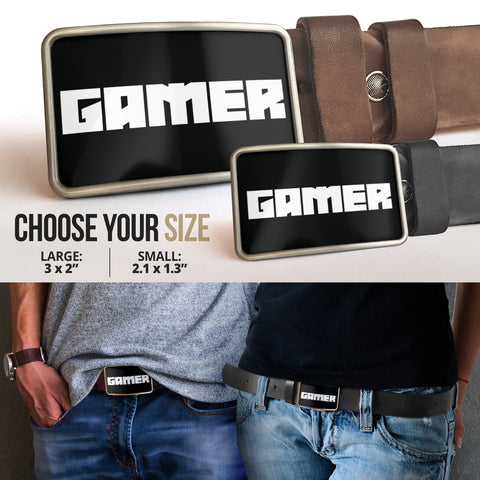 Belt Buckle Gamer