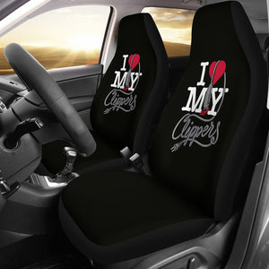 Car seat covers Love Clippers