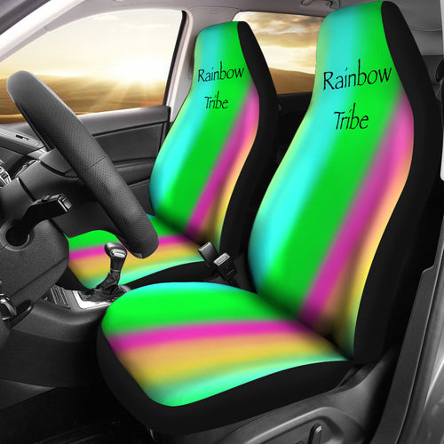 Car seat covers Rainbow tribe