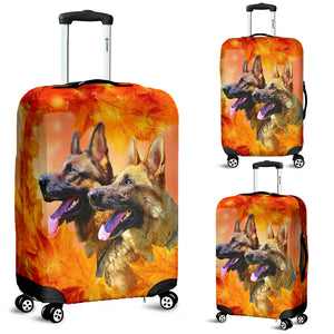 Luggage covers German Shepard