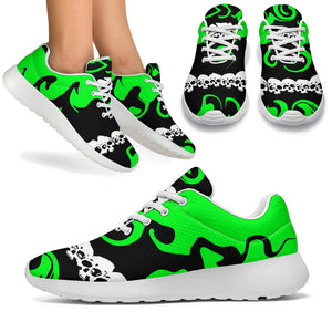 Women's sneakers/Green envy