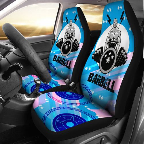 Car Seat Cover bar bells