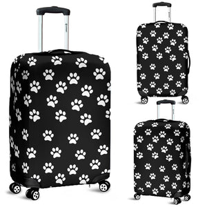 Luggage covers Paw prints