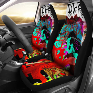 Car seat covers Abstract dirty lil freak 5