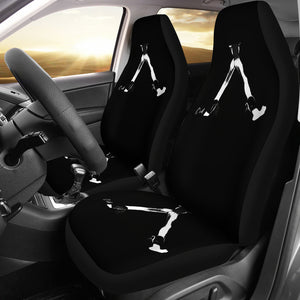 Car seat covers nude girl