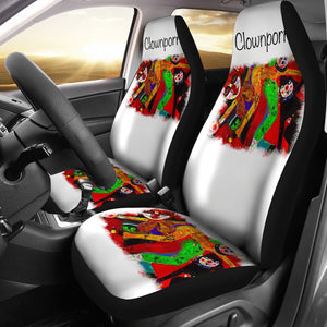 Car seat covers Clownporn