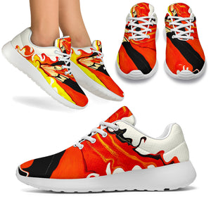 Women's sneakers/Firewoman