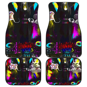 Car floor mats front and back raver/dj5