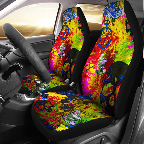 Car seat covers Barber theme 1