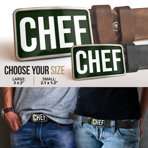 Belt Buckle Chef
