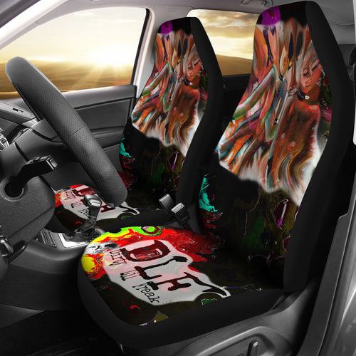 Car seat covers Abstract Dlf8