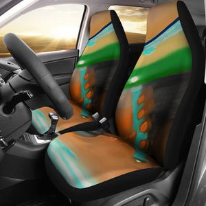 Car seat covers Abstract underground
