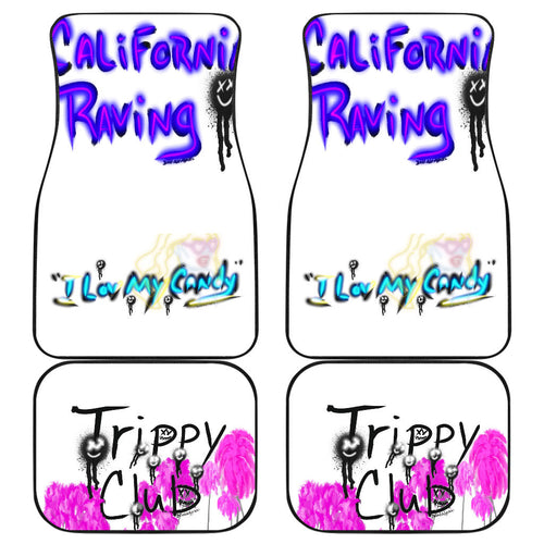 Car mats f/b Cali raving