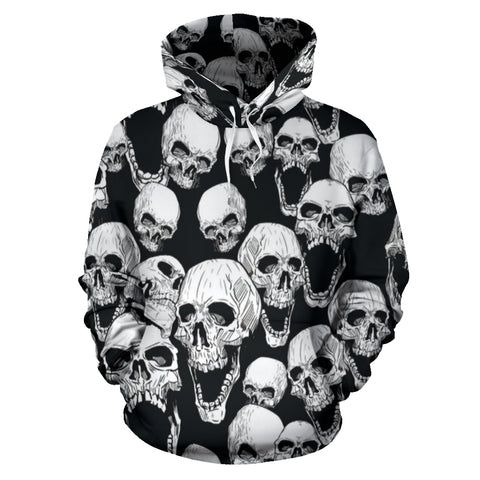 Hoodies Screaming Skulls